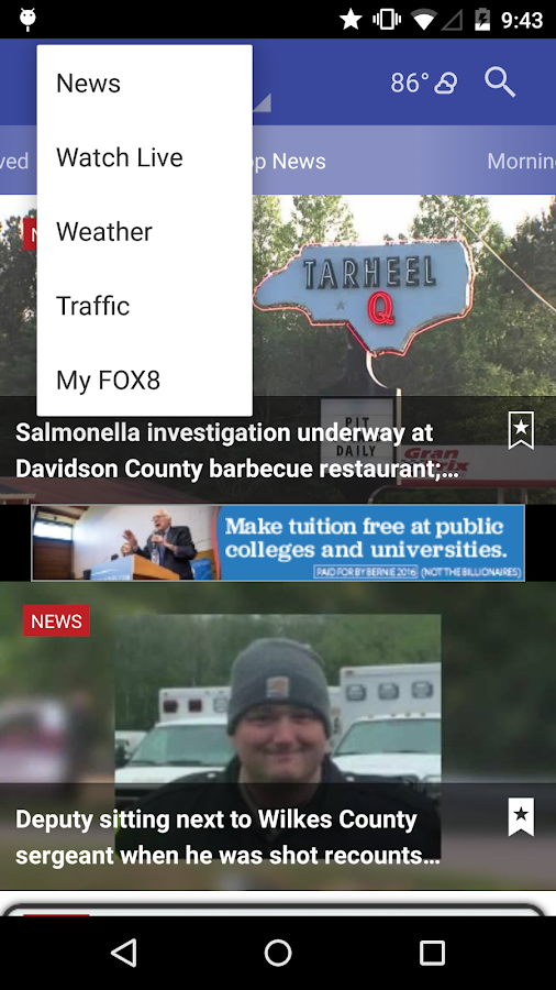 FOX8- screenshot
