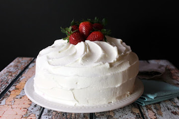 Moist Strawberry Cake Recipe
