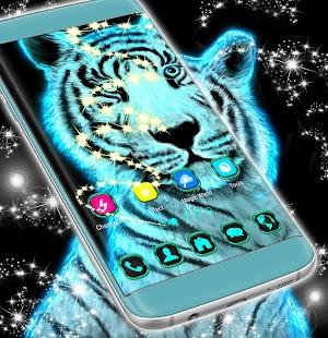 Neon Tiger Téma - náhled