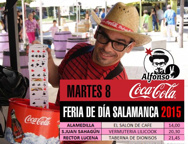 feria dia salamanca 2015 dia martes magia coca-cola