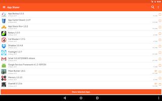 Screenshot of App Sharer+