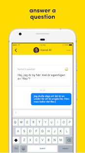 Welcome App - náhled