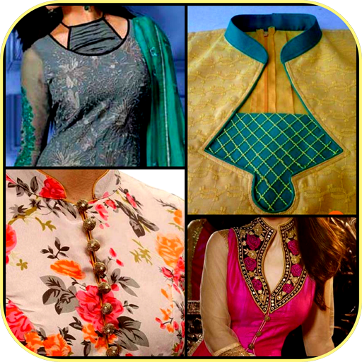 Stylish Neck Designs Kurti Collar Girls Ideas New Apps On Google Play