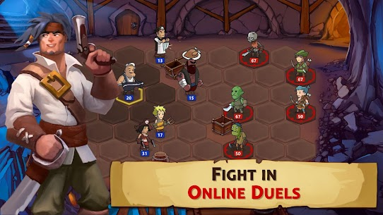 Braveland Heroes Mod Apk Download For Android and Iphone 4