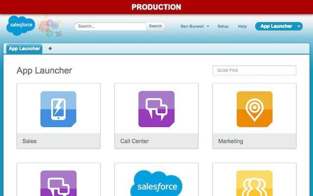 Org Header for Salesforce®
