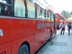 Photo: VIETNAM Cantho - notre bus (Pana)