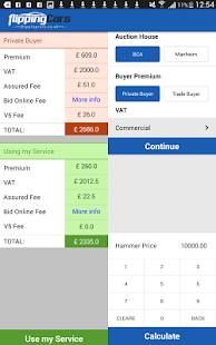 Car Auction Fee Calculator- screenshot thumbnail