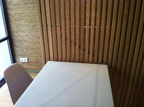Photo: #CaspFood detalle de mesa en zona restaurante