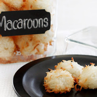 Coconut Almond Macaroons Recipes