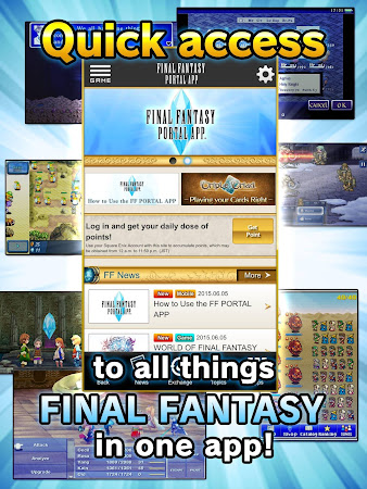 FINAL FANTASY PORTAL APP 1.0.5 screenshot 295716