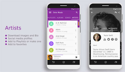 Onix Music Player - Free screenshot 6