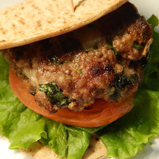Spinach Beef Burgers Recipes.