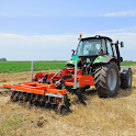 Real Farming Tractor Trolley Simulator; Game 2019 icon