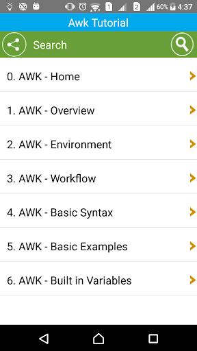 Learn Awk programming