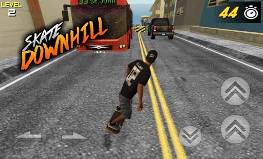 3D Skate DownHill 3 screenshots 5
