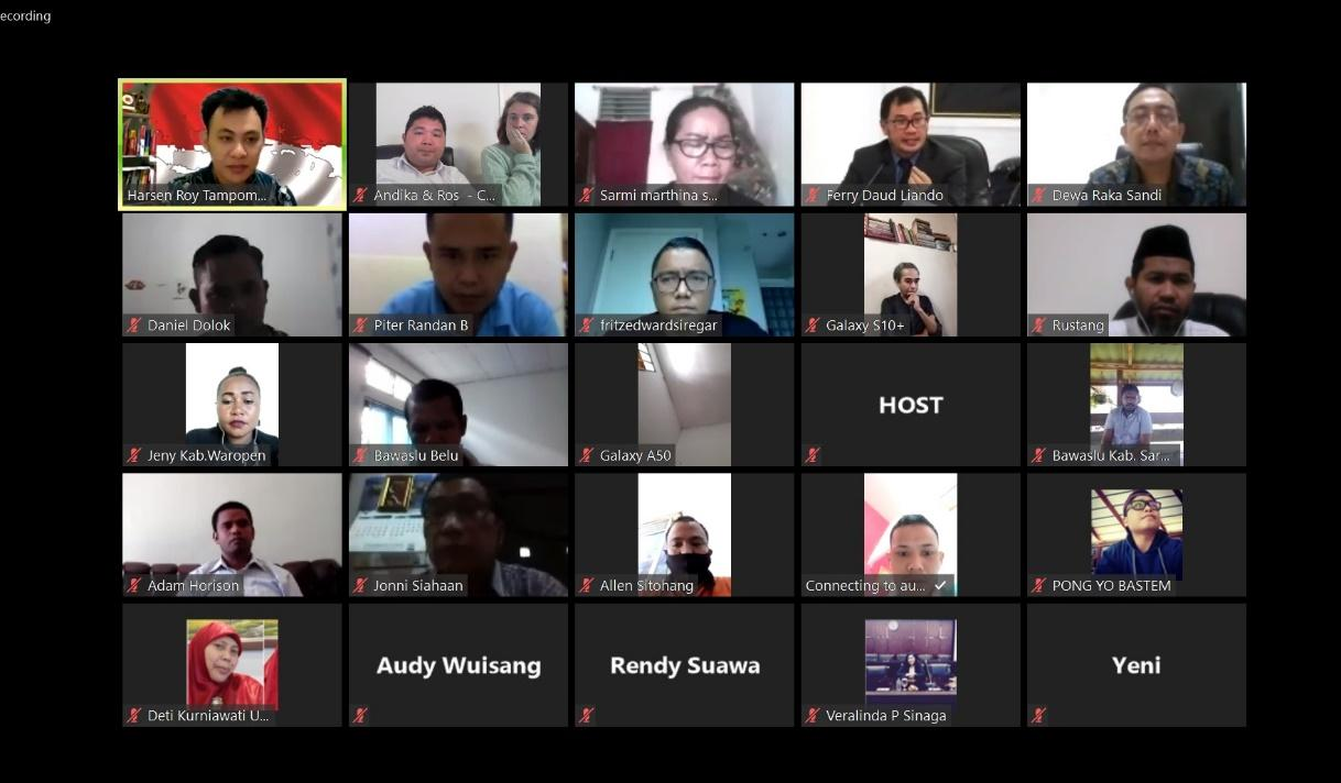 Several members of the ASCM national executive attended an Indonesia SCM Online Discussion