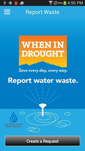 When in Drought Report Waste