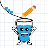 Happy Glass - Draw the Line icon