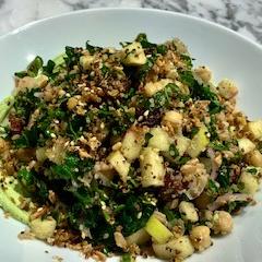 Shredded Kale and Grain Salad