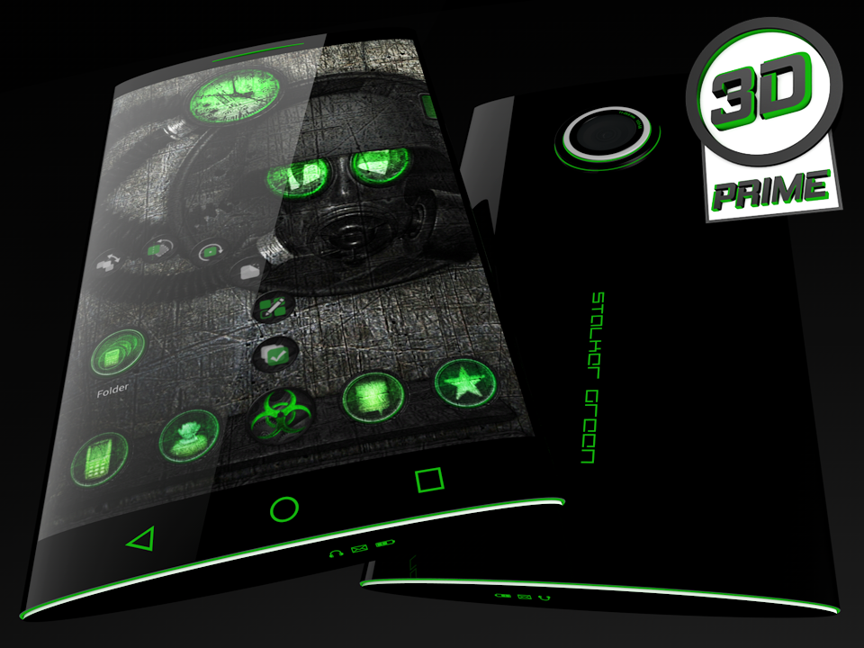 Stalker Green - Next Theme- screenshot