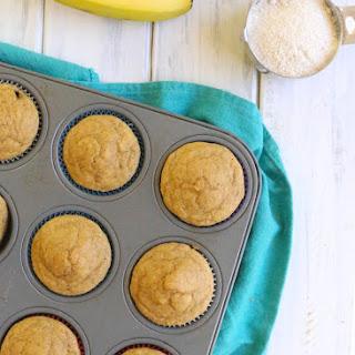Kodiak Cakes Banana Muffins.
