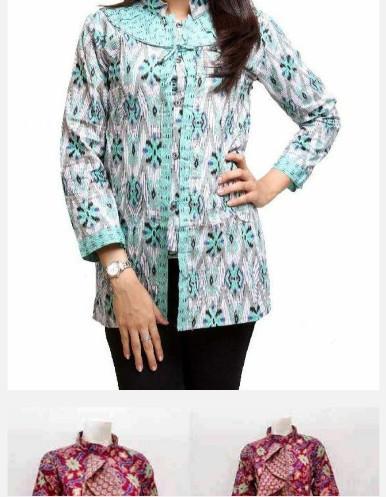Model Baju Batik Kantor Wanita  Android Apps on Google Play