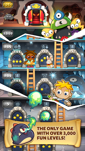 MonsterBusters: Match 3 Puzzle  screenshots 3