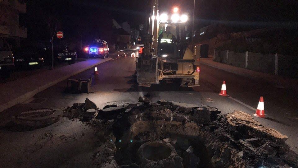 Reposição do pavimento da Av. Egas Moniz começa já hoje