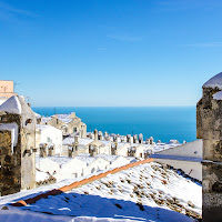 Neve vista mare di marco la torre