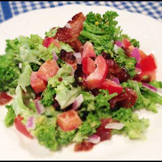 Broccoli and Bacon Summer Salad