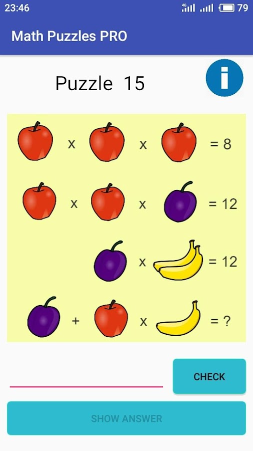 Different Math Puzzles 2018 - Puzzles for Geniuses 이미지[6]