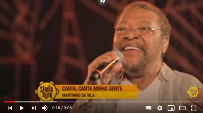 corona onder controle: canta, canta minha gente!