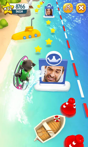 Talking Tom Jetski screenshot 4