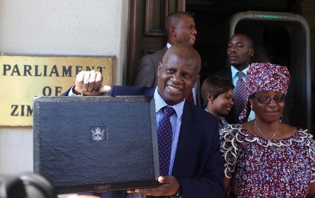 Patrick Chinamasa. Picture: REUTERS/PHILIMON BULAWAYO