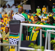 President Cyril Ramaphosa delivered the 2019 election manifesto at the Moses Mabhida Stadium in Durban, KwaZulu-Natal on January 12 2019.