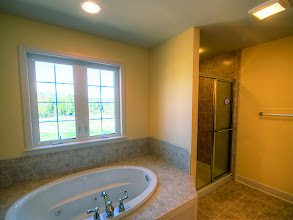 Photo: The master bathroom in our BELLE GROVE II