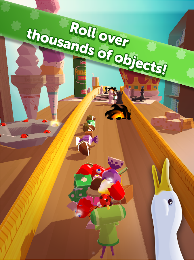 AMAZING KATAMARI DAMACY- screenshot