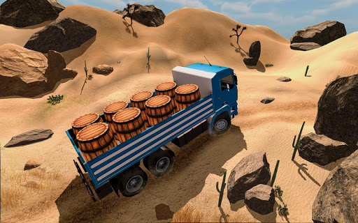 3D Truck Driving Simulator - Real Driving Games 2.0.024 screenshots 13