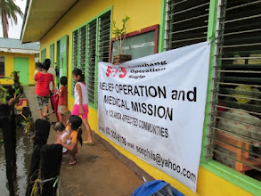 Photo: Relief mission
