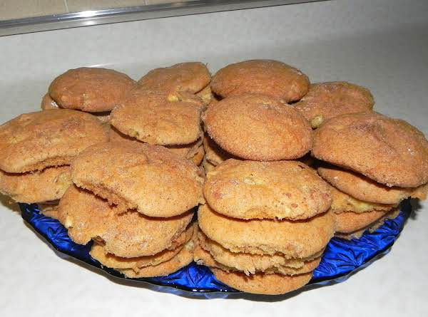 Apple Cinnamon Snickerdoodles