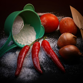 chilli sauce? by Tommy Zen - Food & Drink Ingredients ( canon eos )