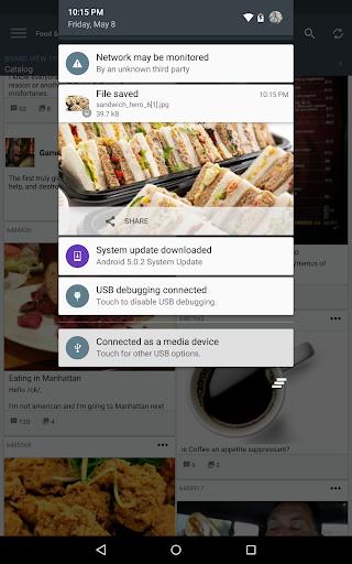 Screenshot for Mimi 4chan Reader (donate) in Hong Kong Play Store