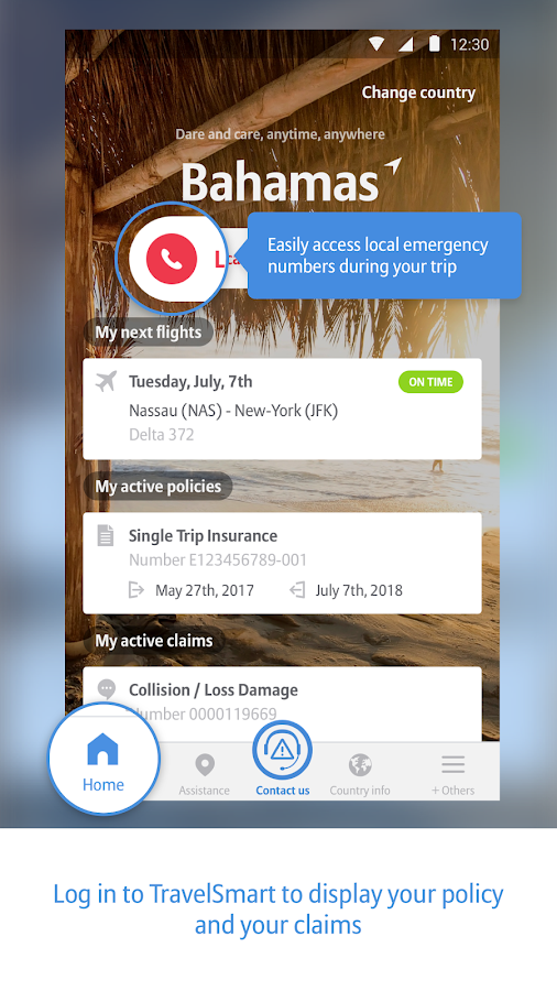TravelSmart- screenshot