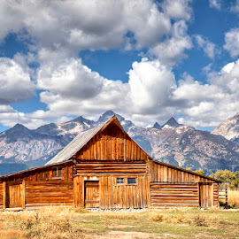 Home on the Range by Ken Smith - Buildings & Architecture Other Exteriors ( grand tetons, wyoming, landscape, moulton barn )