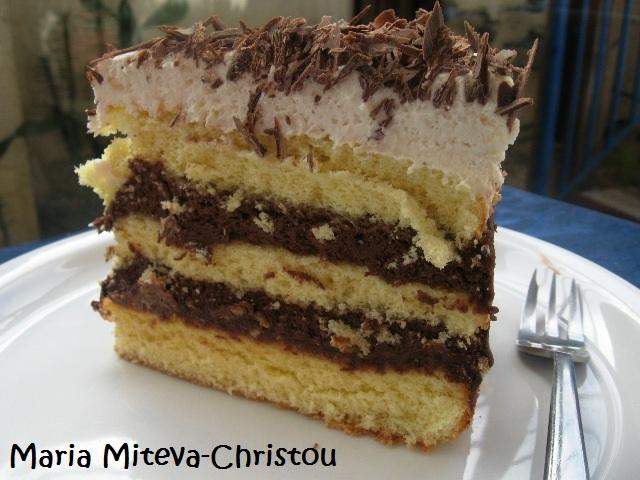 Торта Шоколадово Трио