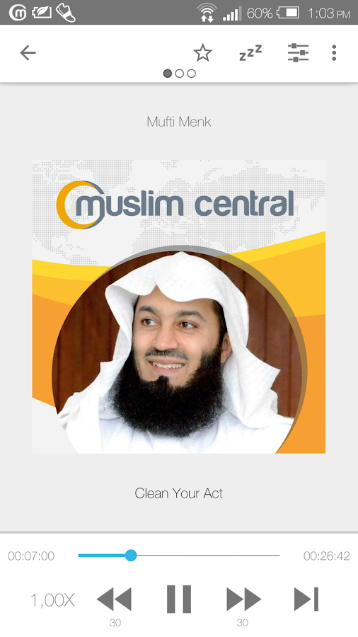 Mufti Menk Official Audio App- screenshot
