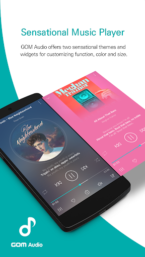 GOM Audio - Music, Sync lyrics, Podcast, Streaming 2.2.6 screenshots 1