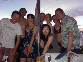 Photo: The crew of the Escape, together on the Escape.