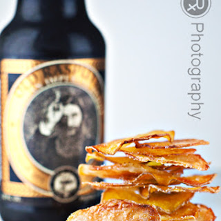 Oven-Fried Truffle and Parmesan Potato Chips