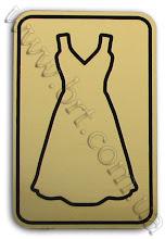 Photo: Табличка на дверь туалета. Гравировка золотисто-черного пластика, рамка по периметру